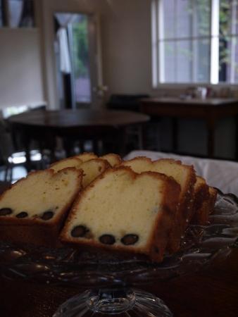 黒豆のバウンドケーキ
