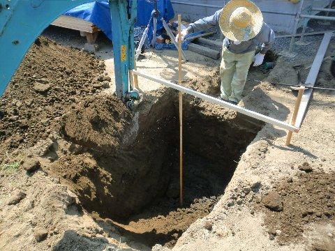 浄化槽掘削