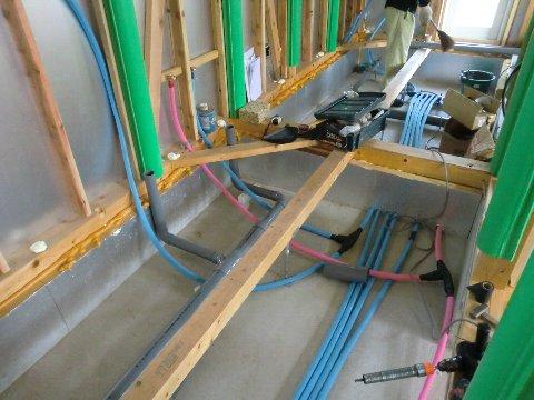 室内給排水配管