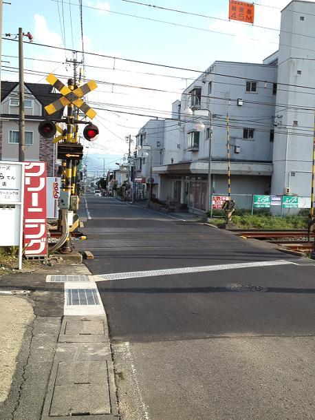 線路工事終わり