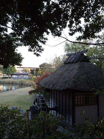 ポスティングの風景・辰巳公園 (2)