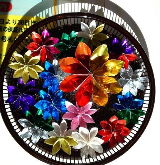 ハート 折り紙 お盆 飾り 折り紙 : kiiromokkoubara.blog86.fc2.com