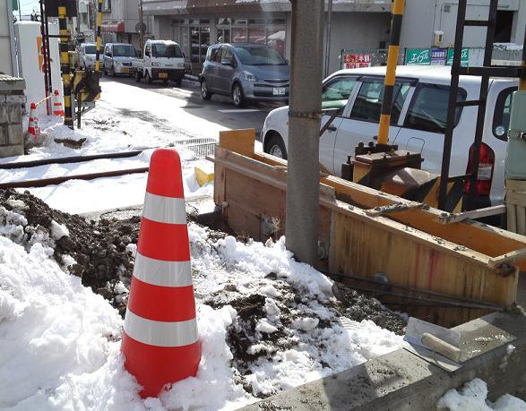 大雪あがりの朝 (4)
