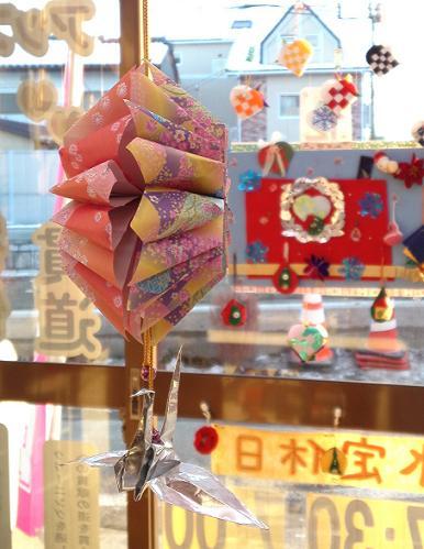 鶴のお正月飾り (2)