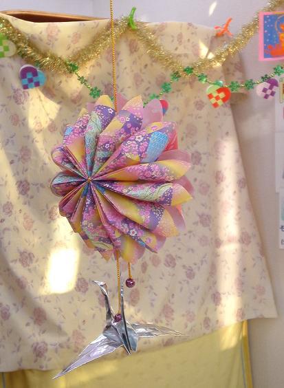 鶴のお正月飾り (4)