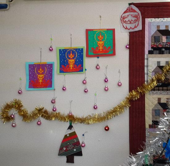 クリスマス・サンタ飾り