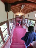 長い階段にびっくり!