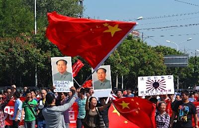 0923-3-中国デモ毛沢東m0013317856
