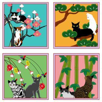 2013年賀状猫づくしプレビュー用