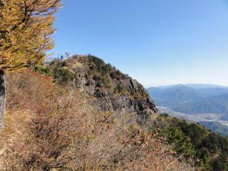 三つ峠三つ峠荘から頂上