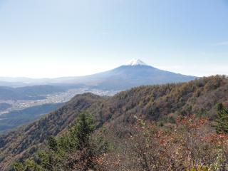 三つ峠三つ峠荘からの富士