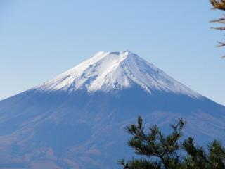 三つ峠見晴富士2