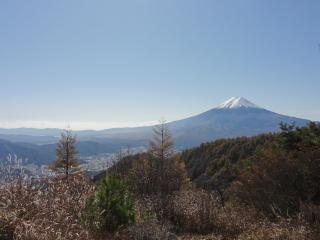 三つ峠見晴富士