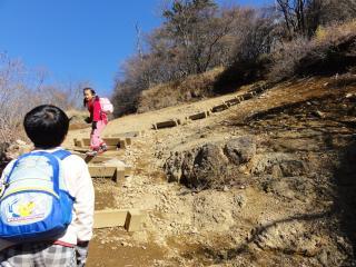 三つ峠登り最後1