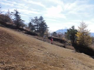 三つ峠登り最後2