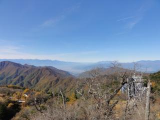 三つ峠頂上景色