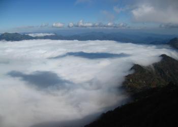 石鎚山雲海