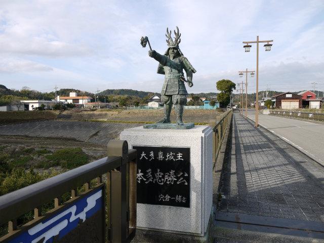 行徳橋の忠勝像-1