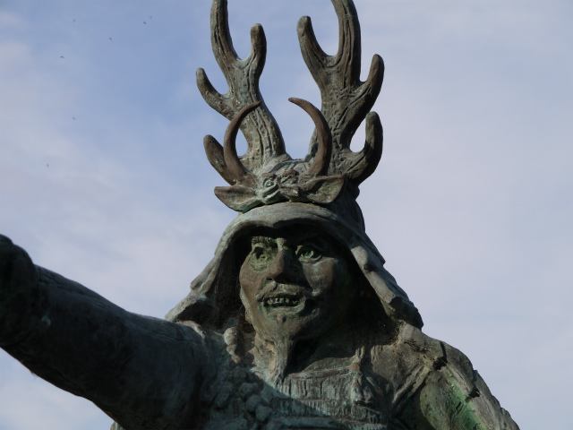 行徳橋の忠勝像ー2