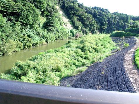 画像ー253 大多喜町・忠勝の像と柳原地区といすみ鉄道 020-2