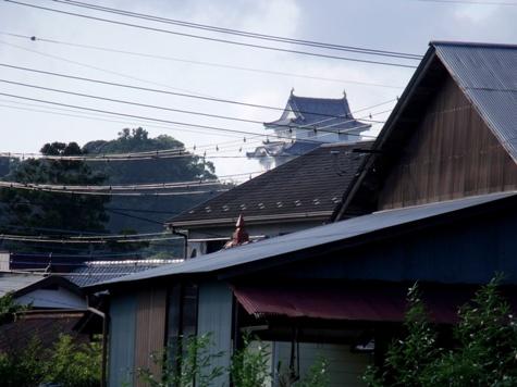画像ー253 大多喜町・忠勝の像と柳原地区といすみ鉄道 027-2