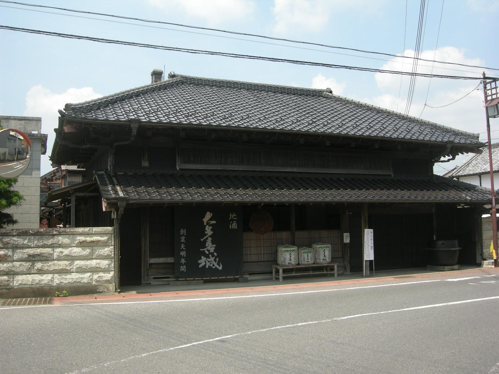 大多喜町・豊乃鶴酒造