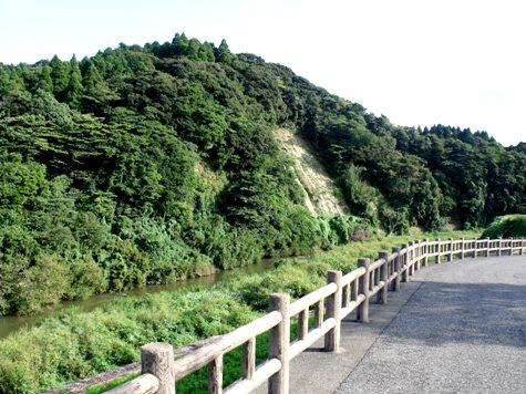画像ー253 大多喜町・忠勝の像と柳原地区といすみ鉄道 038-2