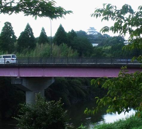画像ー253 大多喜町・忠勝の像と柳原地区といすみ鉄道 061-3