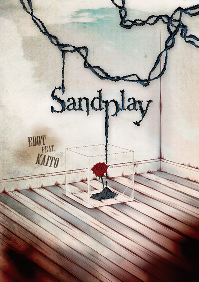 Ebot3rdアルバム「Sandplay」ジャケイメージ