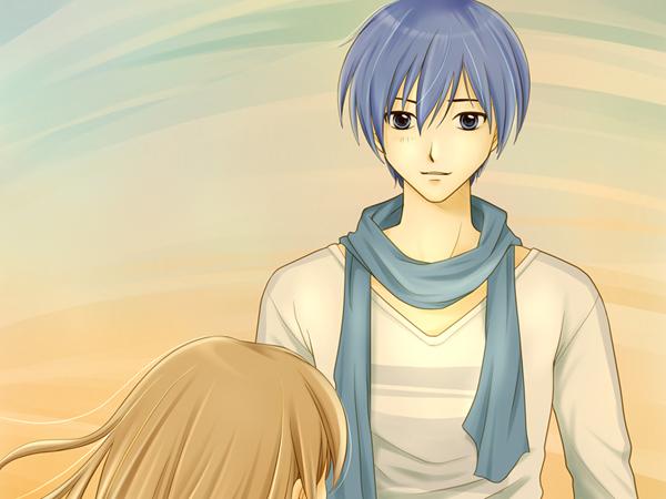 【まめ】青い人が可愛らしすぎた弟風ぶいぶい