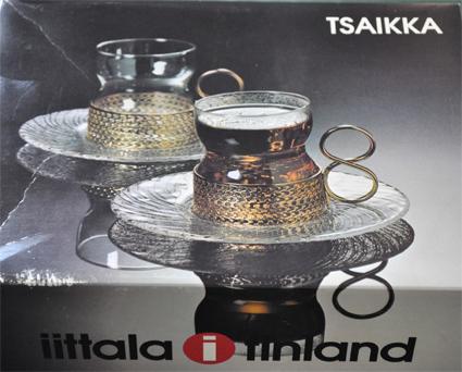 iittala tsuaikka ゴールド ソーサー