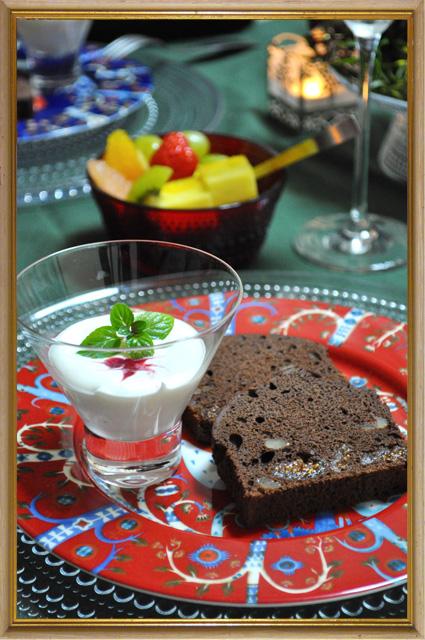 ビターチョコパウンドケーキ