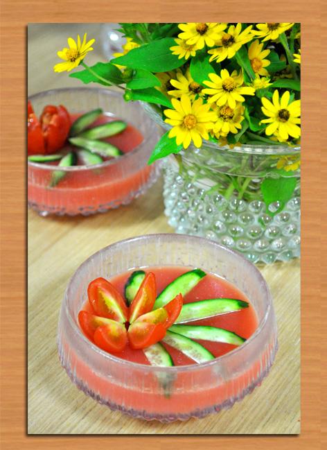 トマト ゼリー
