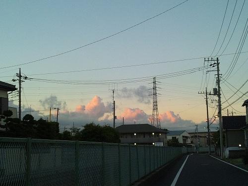 早朝5:00の空