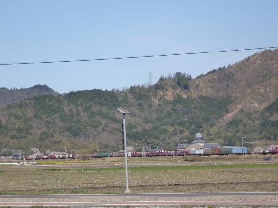 安土を訪れた日に撮った電車達02
