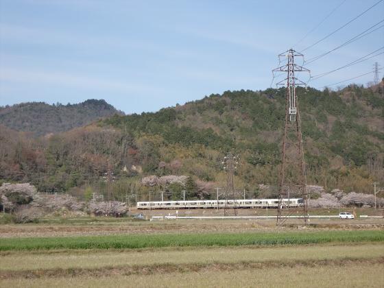 安土を訪れた日に撮った電車達03