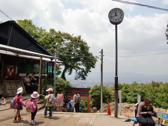 京都伏見稲荷大社で山登り13