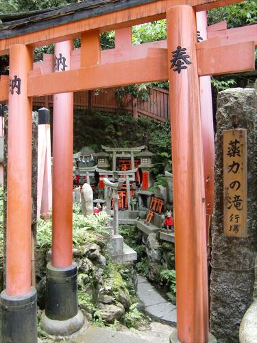 京都伏見稲荷大社で山登り22