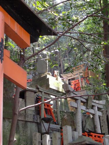 京都伏見稲荷大社で山登り24