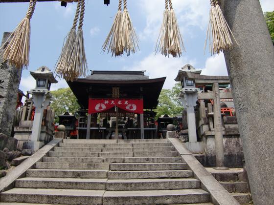 京都伏見稲荷大社で山登り29