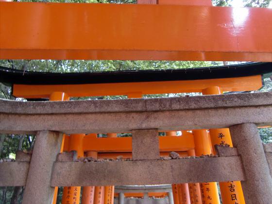 京都伏見稲荷大社で山登り32