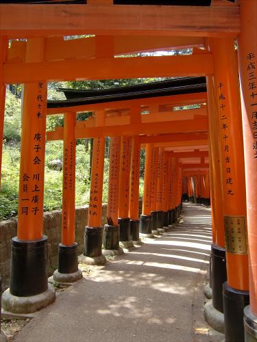 京都伏見稲荷大社で山登り33