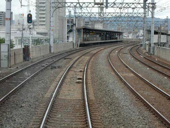 京阪電車で京都伏見へ04
