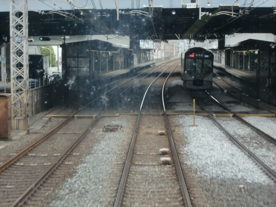京阪電車で京都伏見へ05