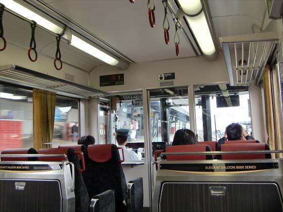 京阪電車で京都伏見へ09