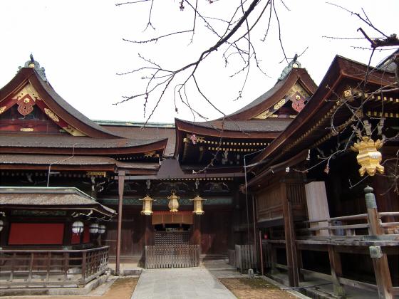 京都北野天満宮にて17