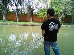 2014,09,20 ニジマス釣り