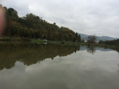 2014.10.26 釣堀より古城
