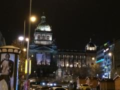 2014,12,4 プラハ バーツラフ広場