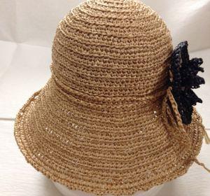 花コサージュ帽